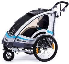 Kinderfahrradanhänger Test Queridoo Sporttrex 1