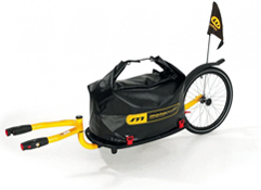 Monoporter Einradnachläufer von Weber